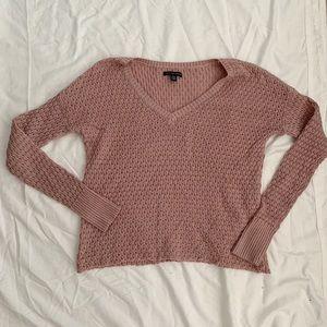 American eagle blush sweater!!!